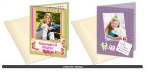 Impresión de tarjetas de cumpleaños