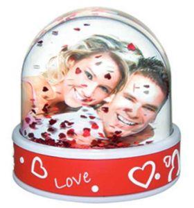 Regalos personalizados bolas de nieve impresas