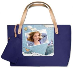 Impresión en bolso de playa