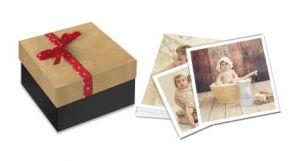 Impresión de fotos instantáneas en caja