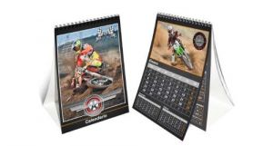 Calendario impreso con fotografía